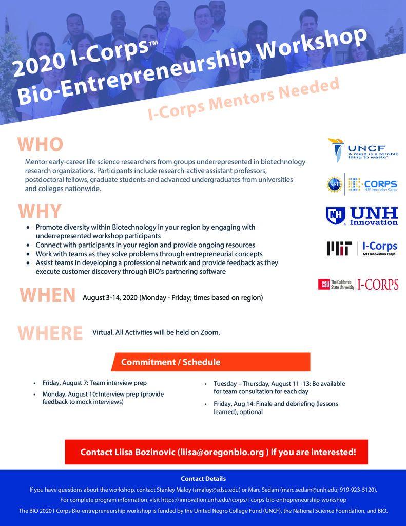 thumbnail of 2020.07.27_BIO_2020_ICorps Bioentrepreneurship Flyer