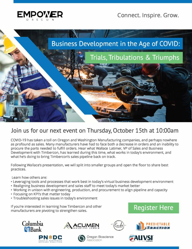 thumbnail of Empower Oregon – Business Development in the Age of COVID – October 2020-CENTERED LOGOS